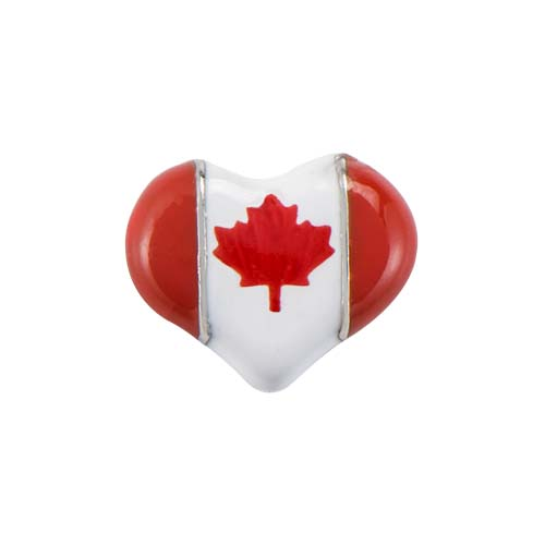 CH1481 Canada Heart Flag Charm V1 copy